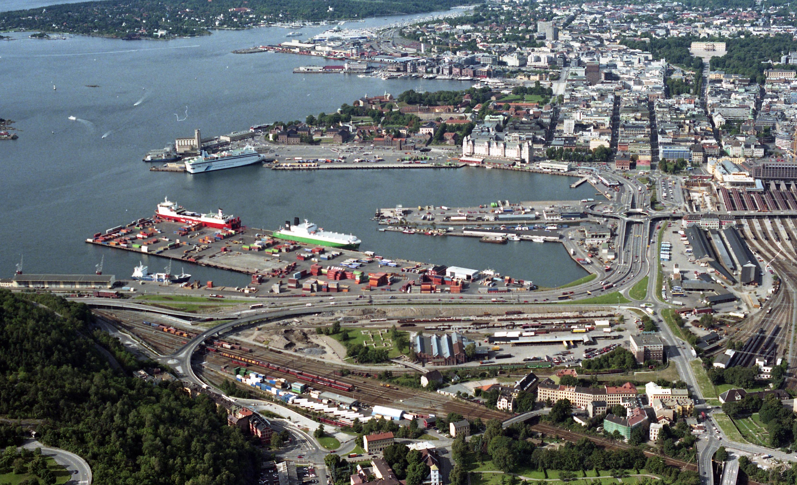 Oslo uten Operan